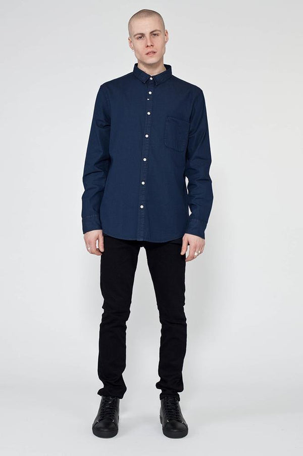 MENS FLOYD DENIM SHIRT - Nique Clothing