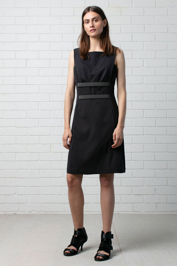 BLACK FOUNDATION SHIFT DRESS