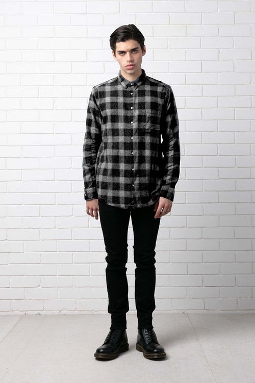 CHECK WESTERN RELAXED SHIRT