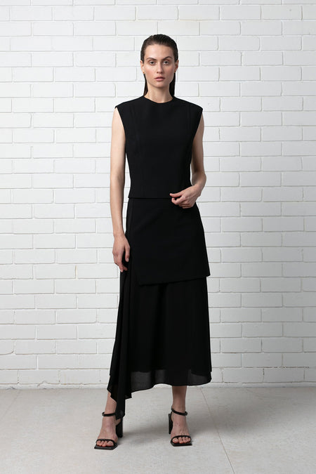 BLACK FUMINO MERINO KNIT