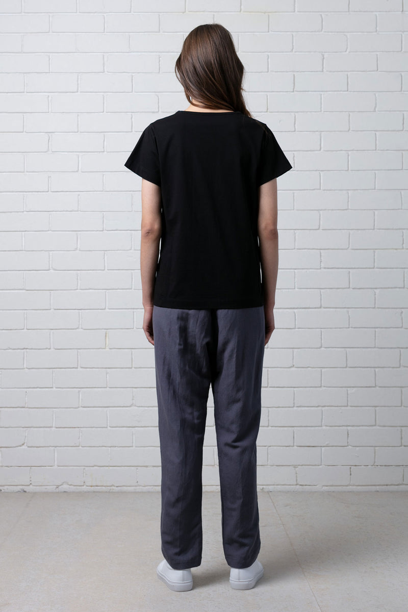 ROUCHED TEE