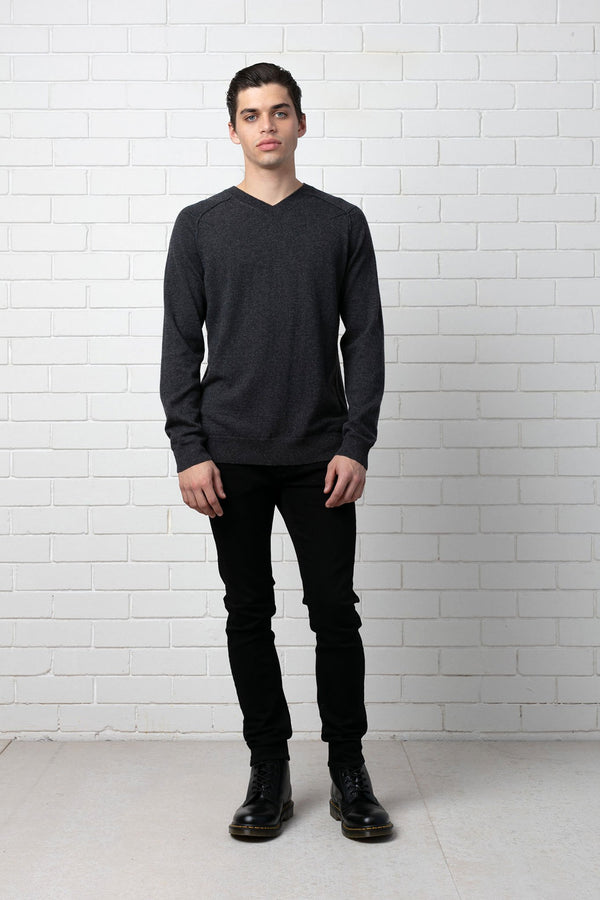 MENS SHIRO WOOL CASHMERE KNIT - Nique Clothing