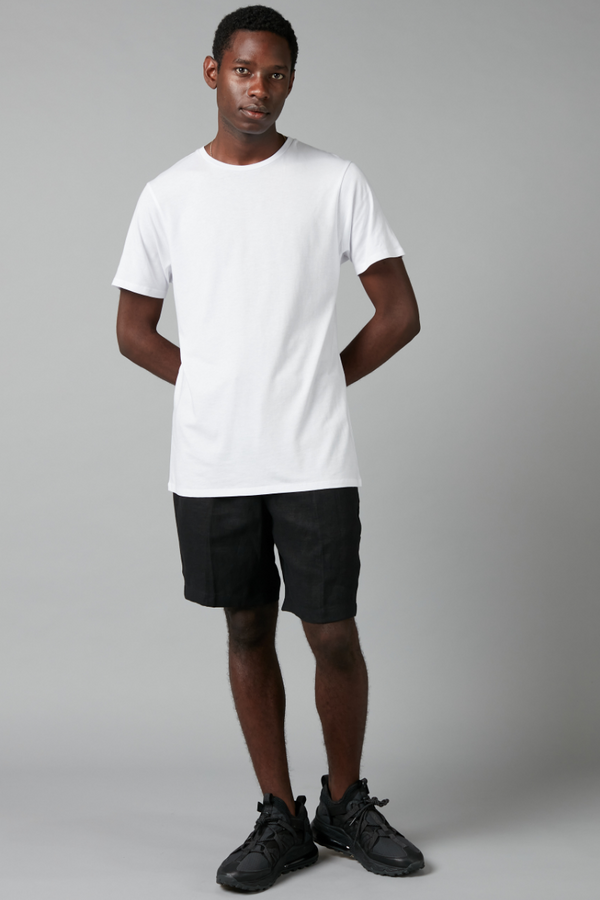 White Slim Cotton Tee