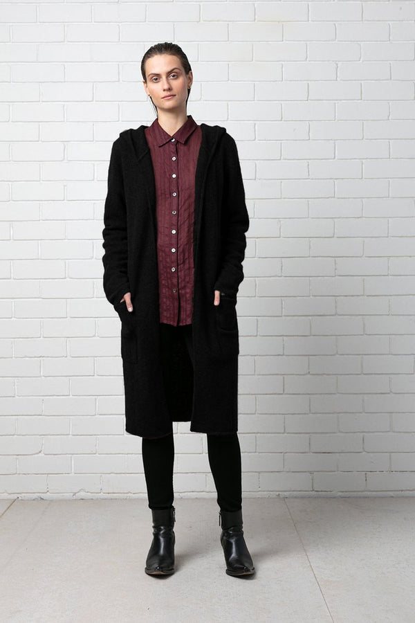 BLACK NOGUCHI KNIT - Nique Clothing