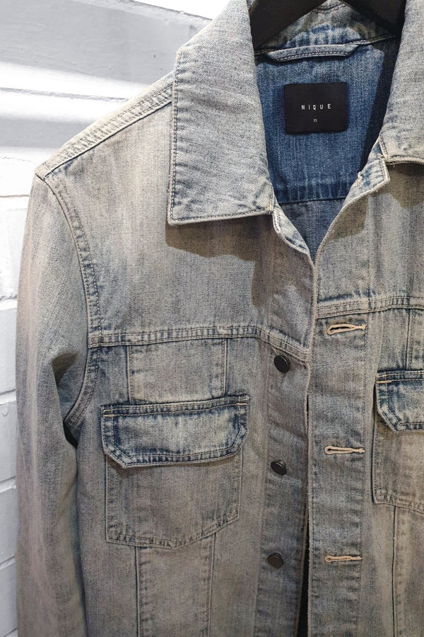 MENS YOSHIO DENIM JACKET