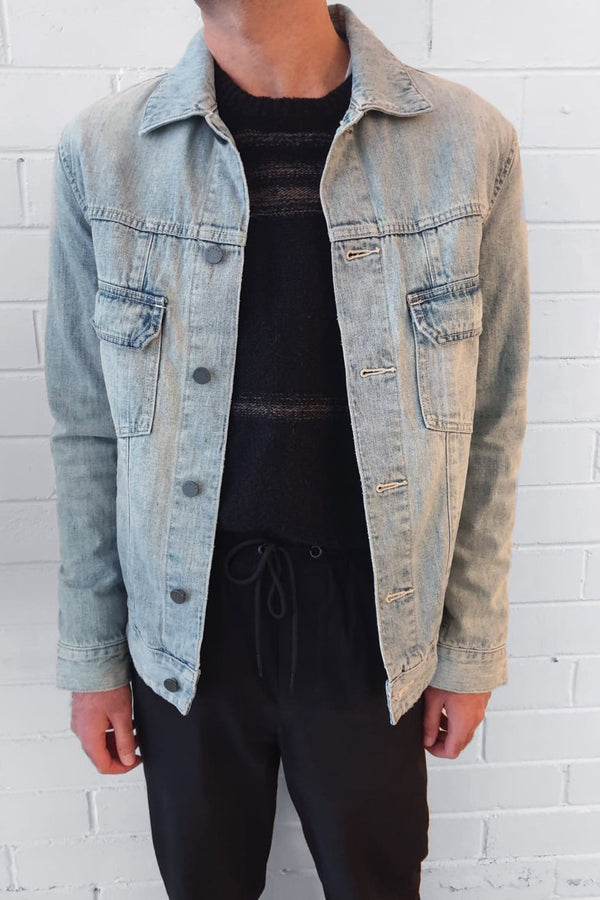 MENS YOSHIO DENIM JACKET - Nique Clothing
