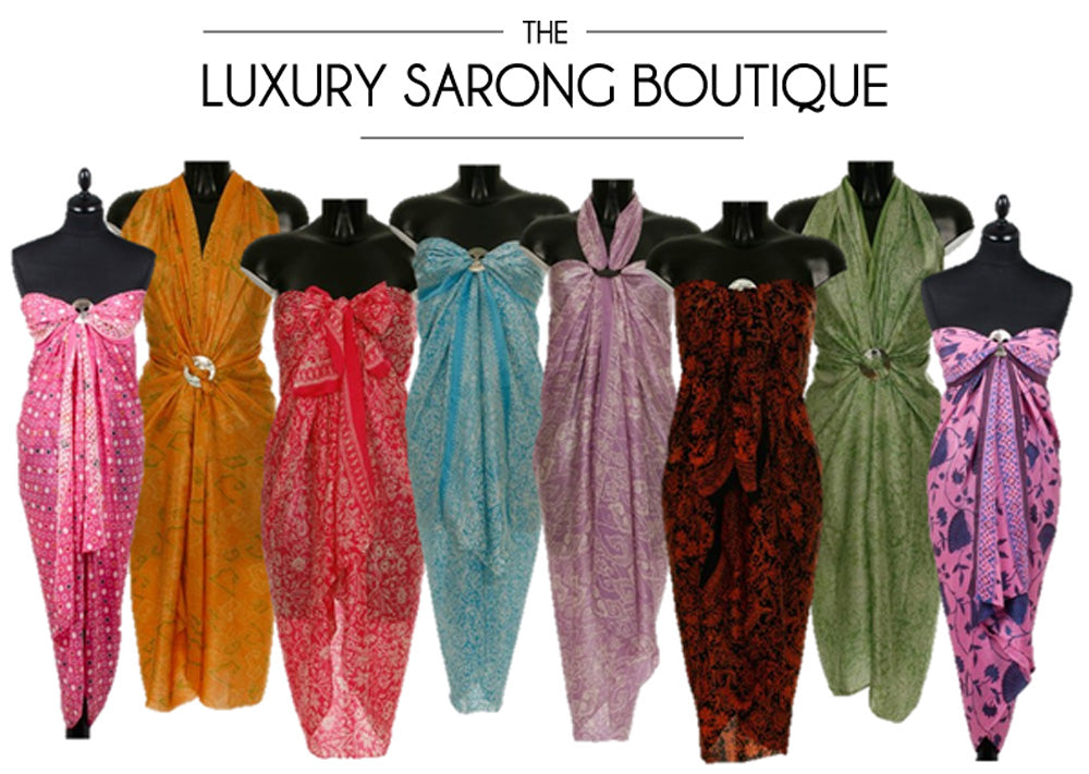 The Luxury Sarong Boutique sarongs