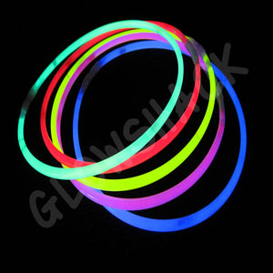 "Glowing Premium 22"" Necklace (50 Pack) - GlowShack"