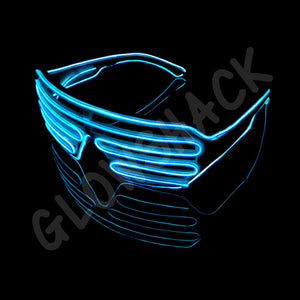 LED EL Slotted Shades - GlowShack