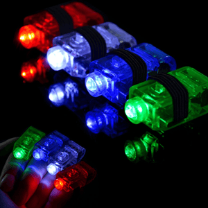 LED Finger Rings - GlowShack
