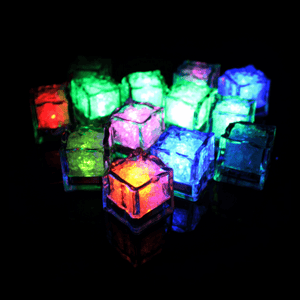 LED Ice Cubes (12 Pack) - GlowShack