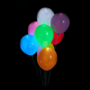 LED Party Balloons (10 Pack) - GlowShack