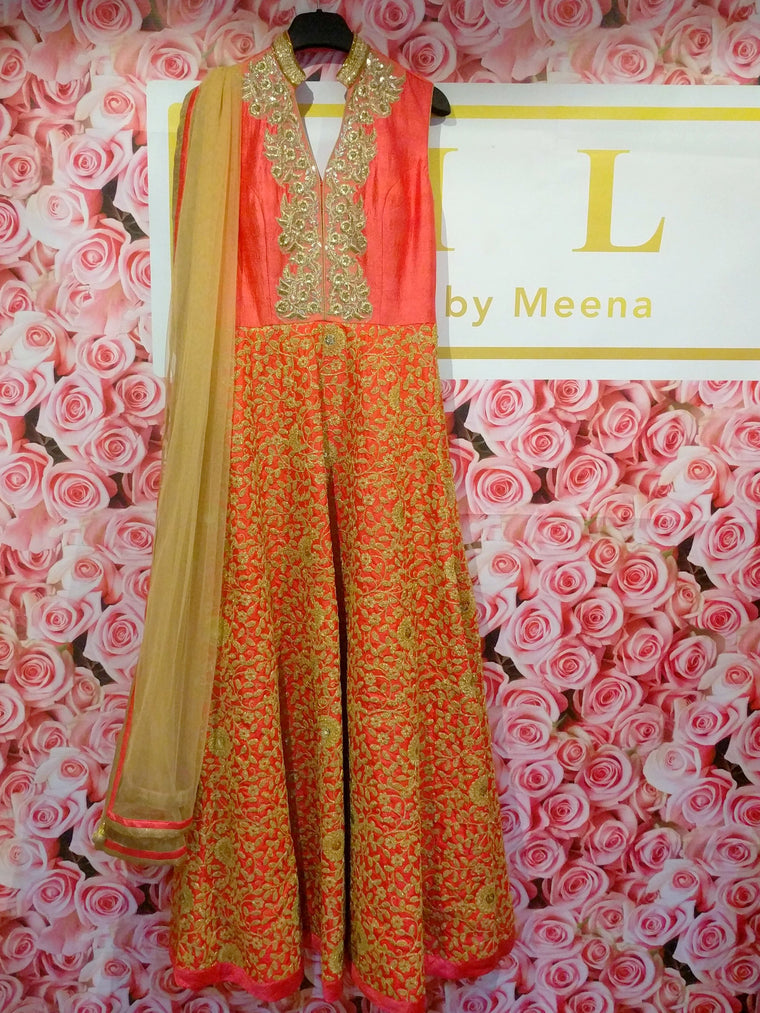 asian outfit anarkali