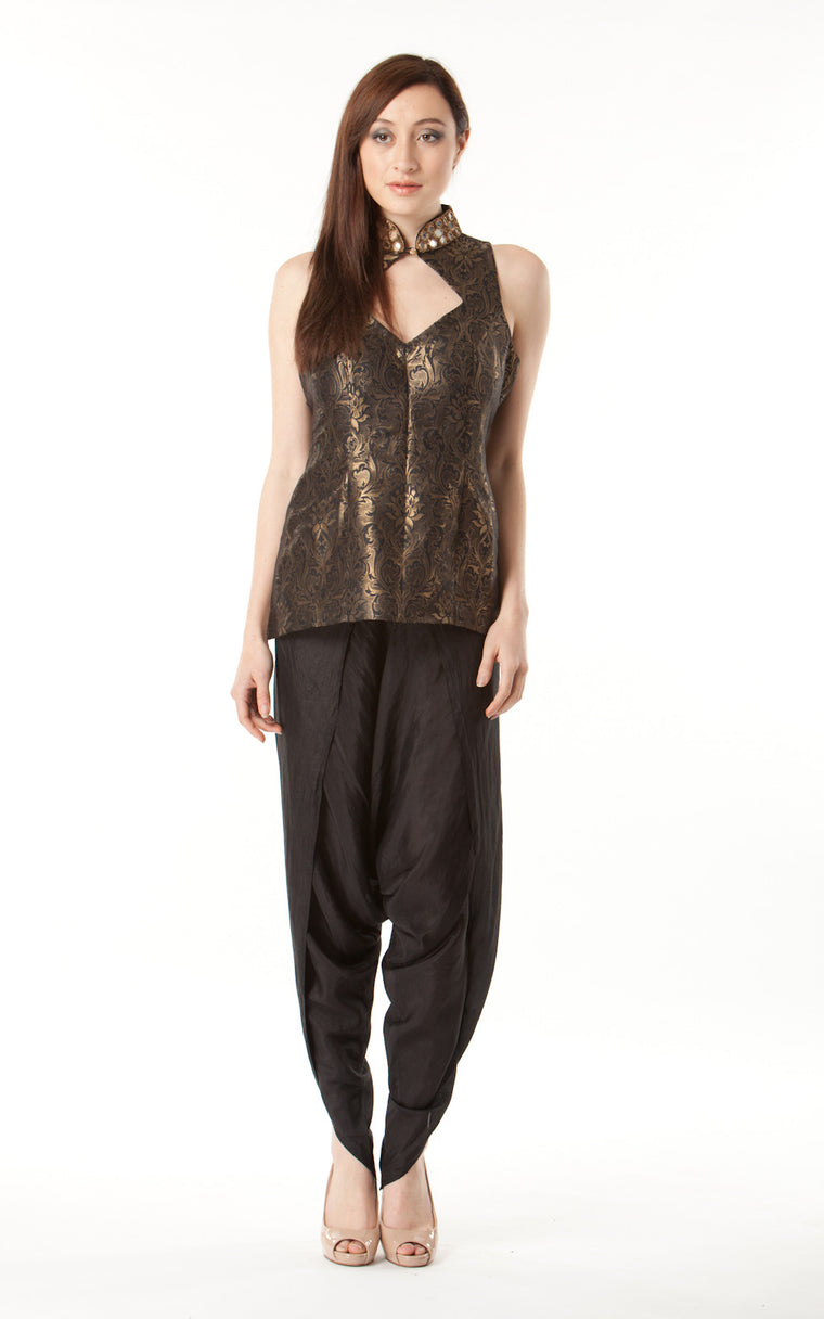 Brocade Trouser Suit