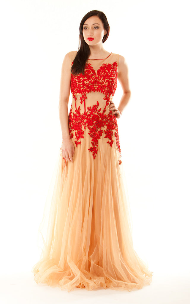 Floral Ball Gown
