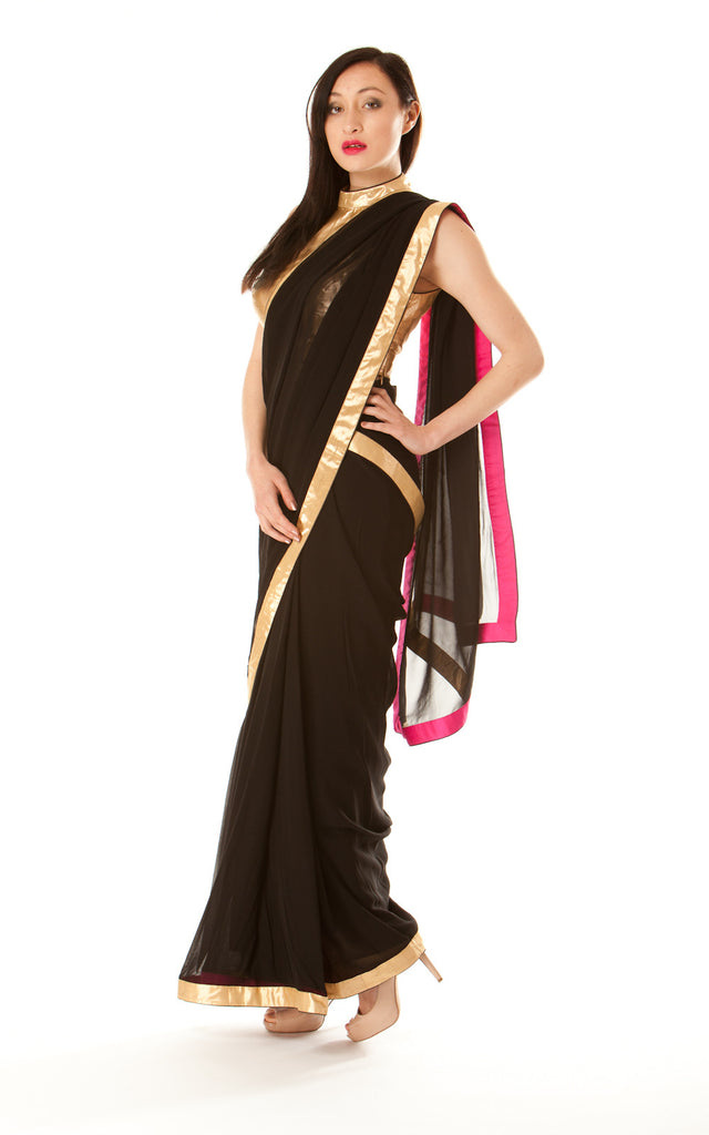 Elegant Ready Made Saree