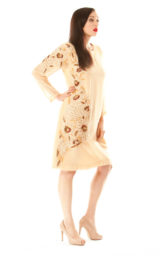 Chiffon Long Sleeve Dress