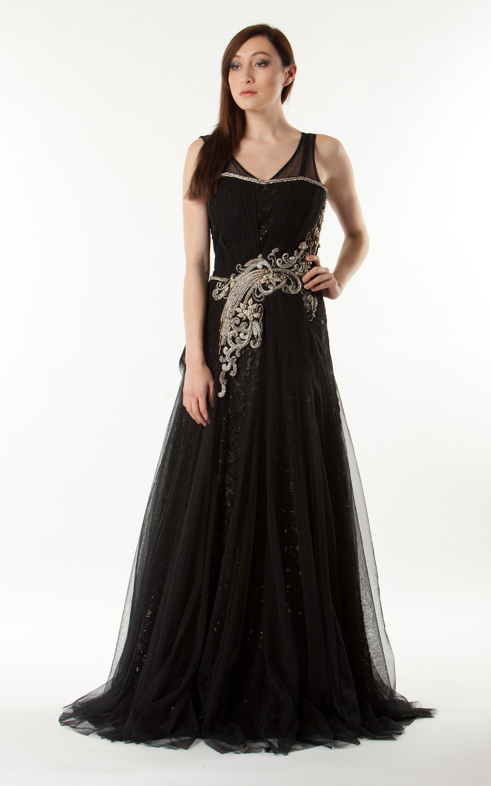 Stunning Ball Gown - SILK By Meena
