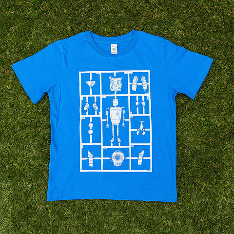 Airfix Robot </br>organic cotton kids t-shirt - Mild West Heroes  - 1