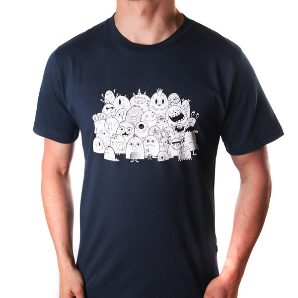 Monster Club</br>organic cotton t-shirt - Mild West Heroes  - 2