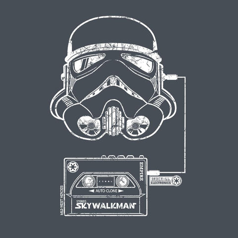 Stormtrooper organic cotton<br /> t-shirt