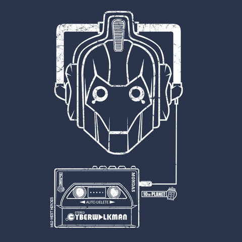 Cyberman organic cotton <br />t-shirt