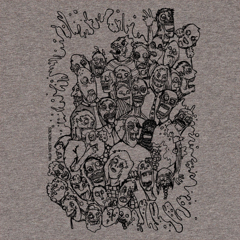 Zombie Splat </br>organic cotton t-shirt