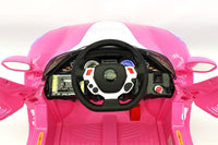 Moderno Kids Spider GT Kids 12V Ride-On Car with R/C Parental Remote | Pink