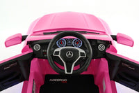 Moderno Kids Mercedes CLA45 AMG 12V Kids Ride-On Car with Parental Remote | Pink