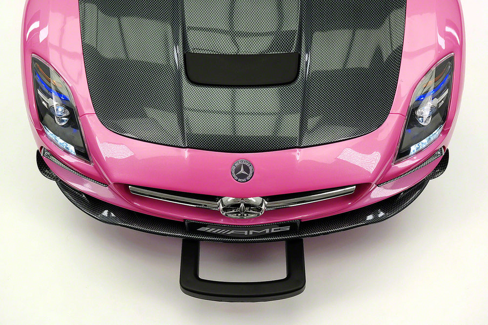 Mercedes SLS AMG Final Edition 12V Kids Ride-On Car with Parental Remote | Pink