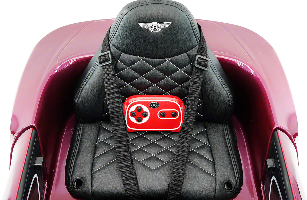 Moderno Kids Bentley EXP 12V Kids Electric Ride-On Car with R/C Parental Remote | Magenta