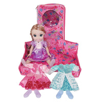 Moderno Kids Magic Princess Talking Interactive Play Doll with Carrying Case and Accessories  | Rose Gold Hair