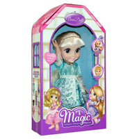 Moderno Kids Magic Princess Talking Interactive Play Doll with Carrying Case and Accessories  | Blond Hair