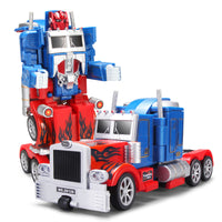 Moderno Kids Battery Operated Transforming Robot-Car with RC Remote Control | Truck