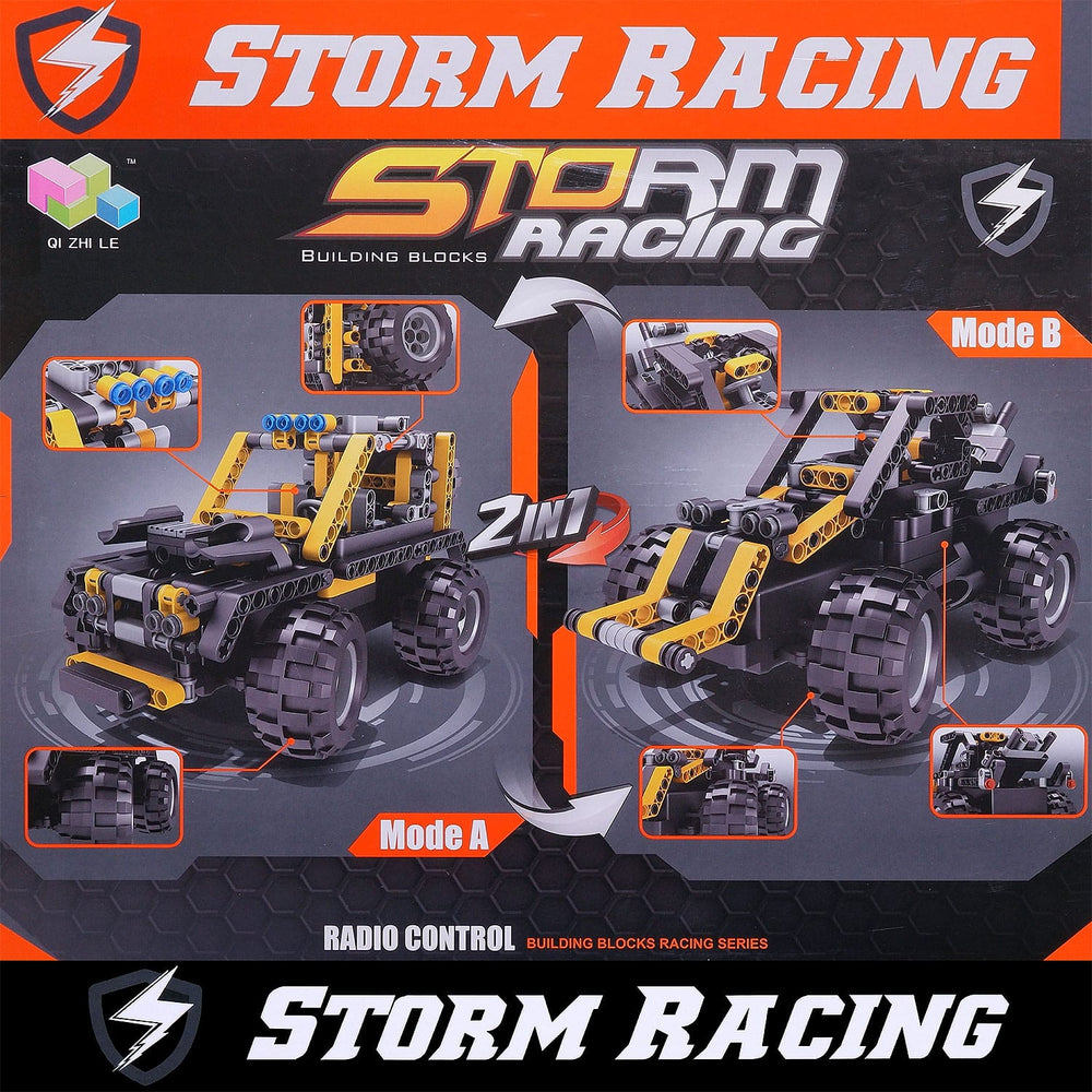 Moderno Kids Storm Racing 311 PCS. Building Blocks W/RC Remote Control