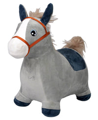 Moderno Kids Inflatable Plush Animal Bouncing / Hopping Ride On Toy | Donkey