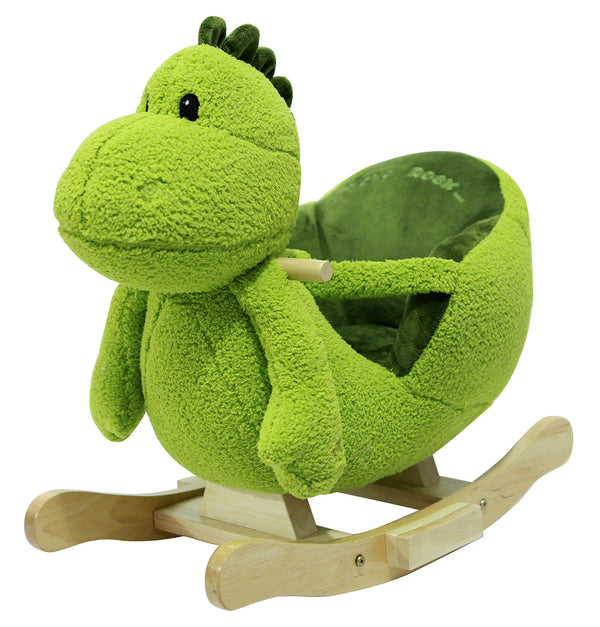 Moderno Kids Plush Animal Ride On Rocking Toy | Dino