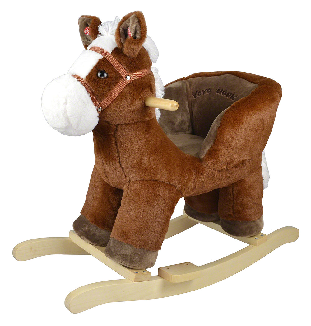 Moderno Kids Plush Animal Ride On Rocking Toy | Pony