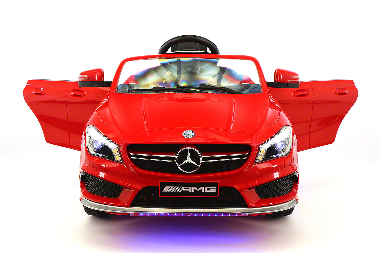Mercedes Cla45 12 V Kids Ride On Car With R/C...