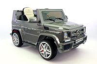 Moderno Kids Mercedes G65 AMG 12V Kids Ride-On Car with Parental Remote | Gray Metallic - www.ModernoKids.com