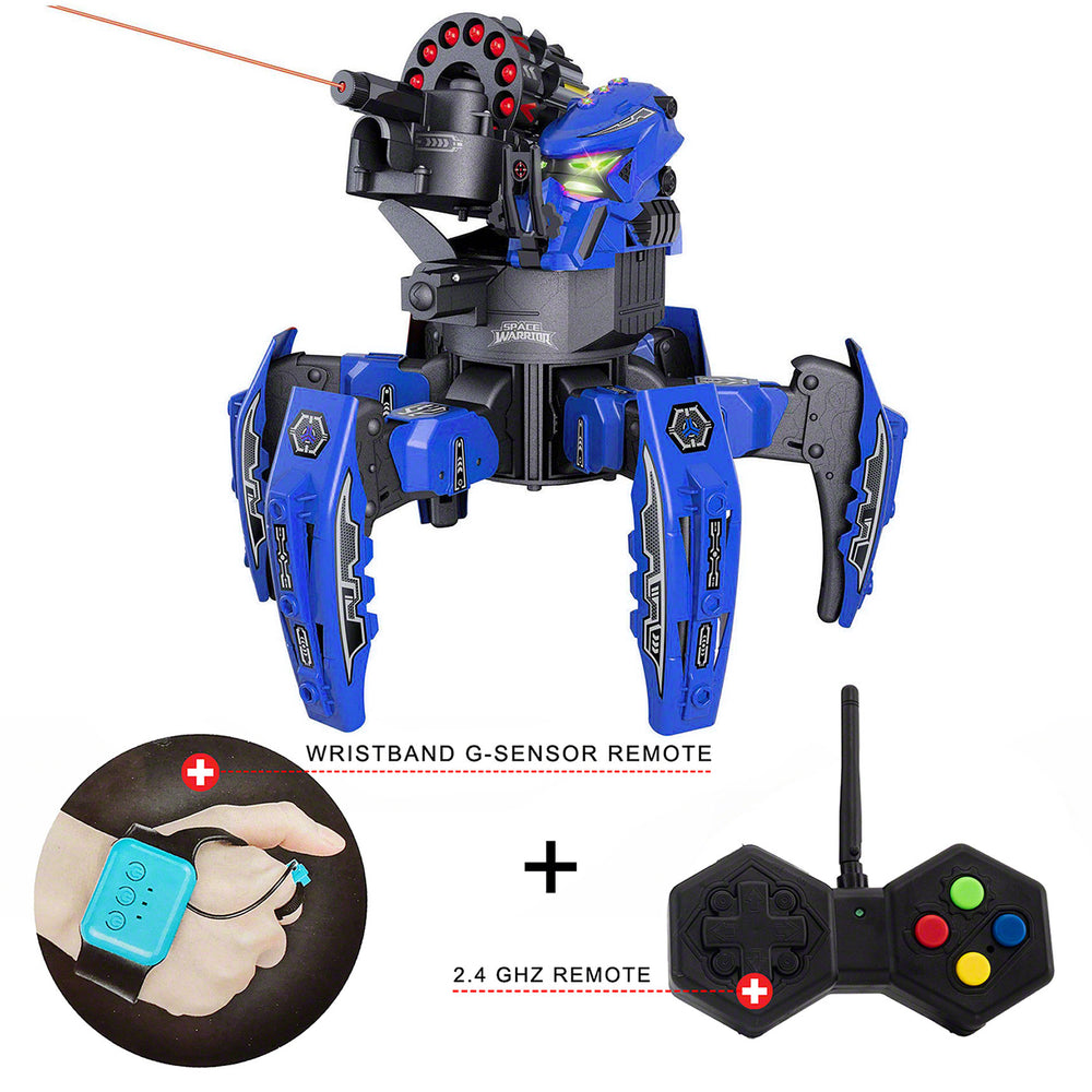 Moderno Kids Spider Space Warrior Fighting Robot With RC Remote Control