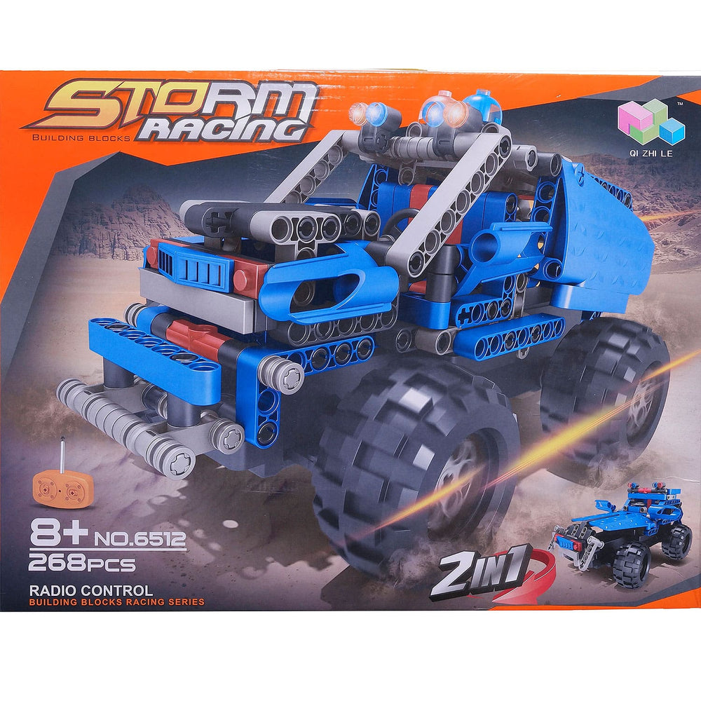 Moderno Kids 268 PCS. Building Blocks With RC Remote Control