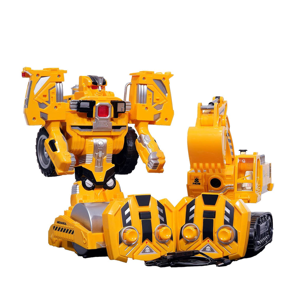 Moderno Kids Battery Operated Road Roller Construction Toy with RC Remote Control