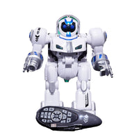 Moderno Kids Battery Operated Remote Control Transforming Intelligent Robot