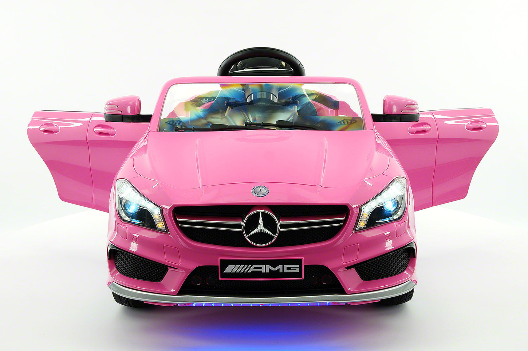 Mercedes Cla45 Amg 12 V Kids Ride On Car With...