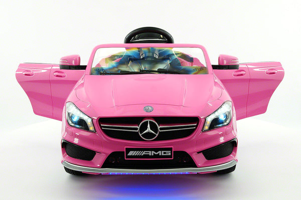 Moderno Kids Mercedes CLA45 AMG 12V Kids Ride-On Car with Parental Remote | Pink - www.ModernoKids.com