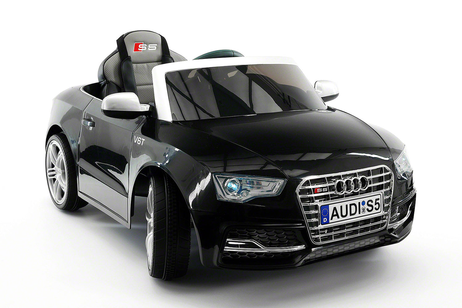 audi s5 sport 12v electric kids ride on car with parental remote black