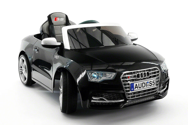 Moderno Kids Audi S5 Sport 12V Electric Kids Ride-On Car with Parental Remote | Black