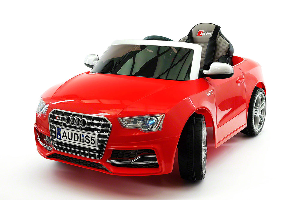 Audi Sport Electric Kids Ride On Car With Parental Remote Red