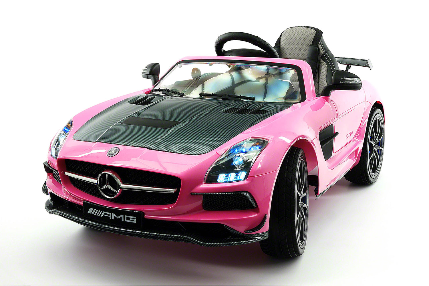 Mercedes SLS AMG Final Edition 12V Kids Ride On Car With Parental Remote |  Pink